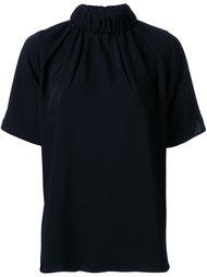 блузка со сборками по вороту Astraet