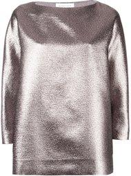 блузка с эффектом металлик  Gianluca Capannolo