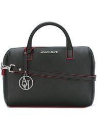 сумка-тоут с контрастной строчкой Armani Jeans