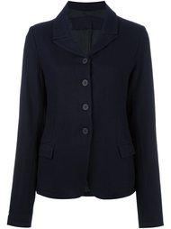 приталенный пиджак на пуговицах Rundholz