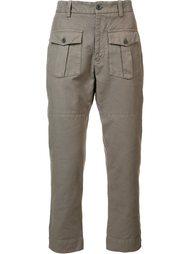 cargo pocket trousers  Wooster + Lardini