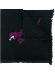 шарф с динозавром Paul Smith