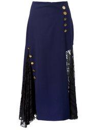 платье на пуговицах  Prabal Gurung