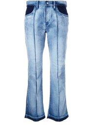 укороченные джинсы-клеш Astraet