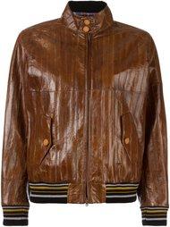 куртка-бомбер с панельным дизайном  Maison Margiela