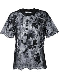 semi sheer blouse Carven