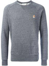 fox patch sweatshirt  Maison Kitsuné
