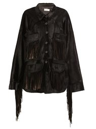 fringed buttoned jacket  Faith Connexion