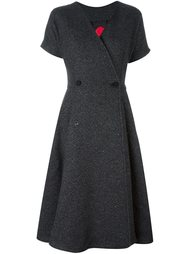 tweed wrap dress Ultràchic