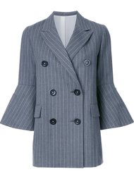 пальто 'Pin Stripe Long Jacket' Le Ciel Bleu