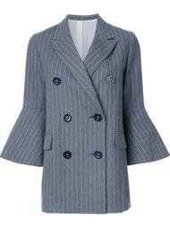 пальто 'Pin Stripe Long Jacket' Le Ciel Bleu
