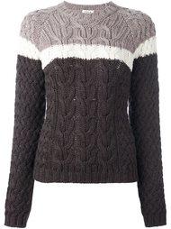 свитер колор-блок  P.A.R.O.S.H.
