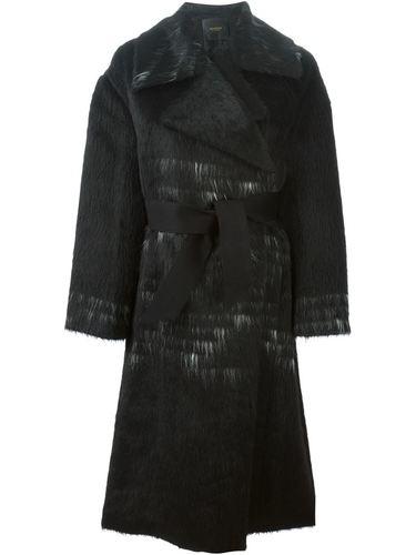 пальто с поясом  Agnona