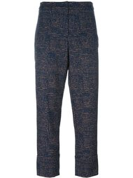 slim-fit cropped trousers Odeeh