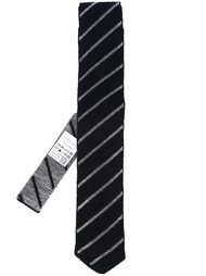 stripe neck tie Lardini