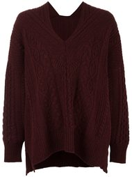 cable knit jumper Mame