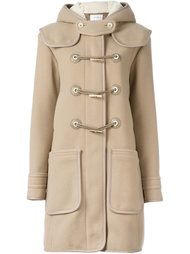 toggle fastening duffle coat Carven