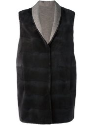 mink fur sleeveless coat  Manzoni 24