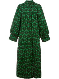 jacquard long coat Ultràchic
