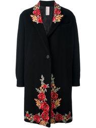 пальто с вышитыми цветами Antonio Marras