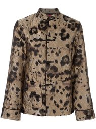 leopard print quilted suit For Restless Sleepers