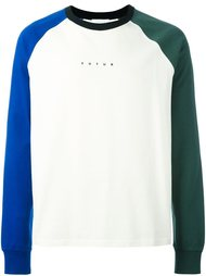 logo print sweatshirt Futur