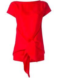 блузка с завязками спереди Nina Ricci