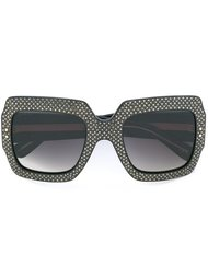 embellished frame sunglasses Gucci Eyewear