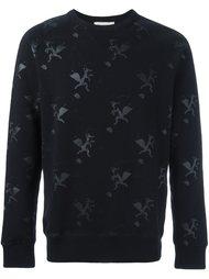 fox print sweatshirt  Maison Kitsuné