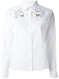 рубашка с вышивкой 'Faces' Jimi Roos