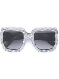 embellished sunglasses Gucci Eyewear
