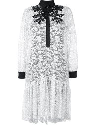 floral lace shirt dress  Antonio Marras