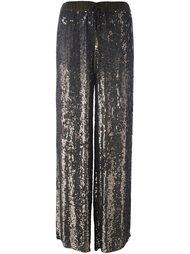 широкие брюки с пайетками  P.A.R.O.S.H.