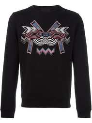 geometric embroidery sweatshirt Les Hommes