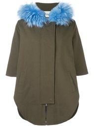 короткое пальто на молнии Ava Adore