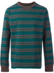 striped sweatshirt Sacai