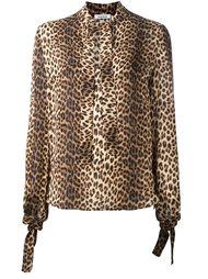 рубашка с леопардовым принтом P.A.R.O.S.H.