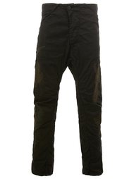 stitch detail straight leg trousers 11 By Boris Bidjan Saberi