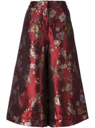 floral print cropped palazzo pants For Restless Sleepers
