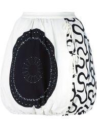 юбка на шнурке с принтом J.W.Anderson