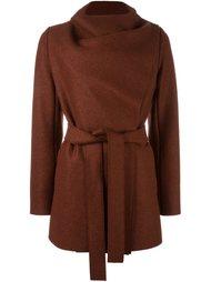 короткое пальто с поясом Harris Wharf London