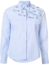 flower applique shirt Jimi Roos