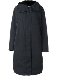 пальто-пуховик с капюшоном Hope