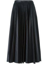 плиссированная юбка миди Junya Watanabe Comme Des Garçons