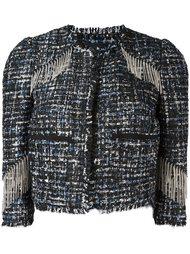 укороченная куртка с бахромой Marco Bologna