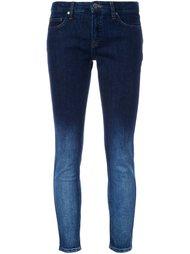джинсы скинни с эффектом градиент Victoria Victoria Beckham