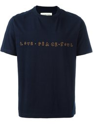 embroidered T-shirt Universal Works