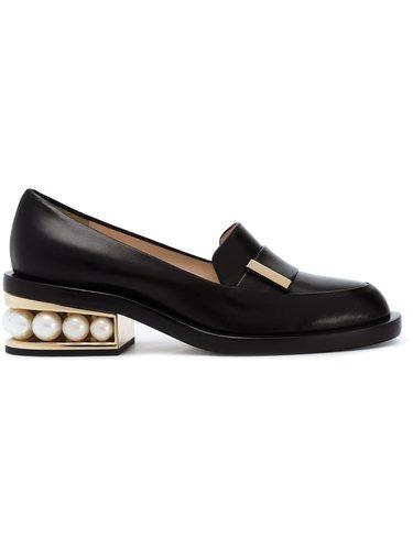 embellished heel loafers Nicholas Kirkwood