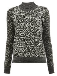 pixelated effect jumper Anrealage