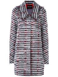 пальто миди с бахромой Giorgio Armani